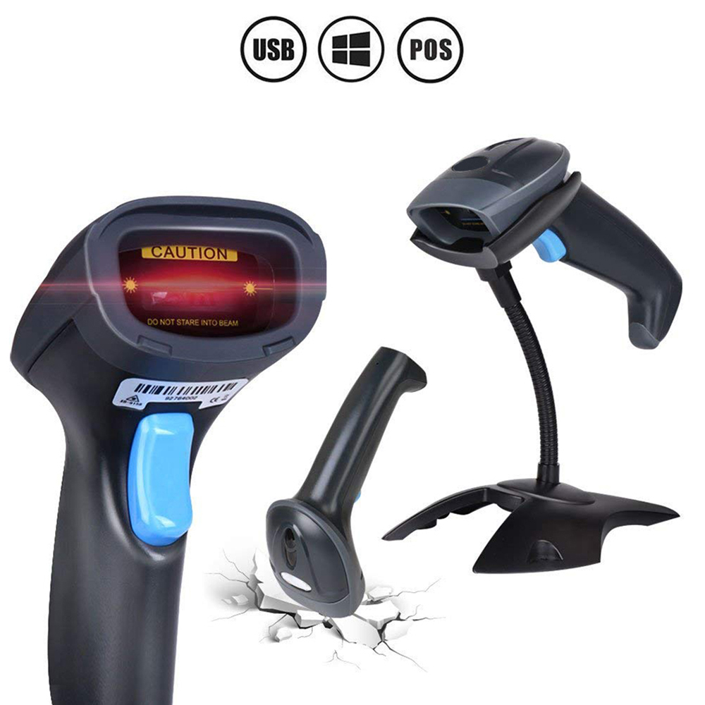 Barcode Scanner 1D 2D QR USB Wired barcode reader 2D Data Matrix Barcode Scanner POS Screen Bar Code Reader PLUG and PLAY wireless barcode scanner bar code reader 2 4g 10m laser barcode scanner wireless wired for windows ce blueskysea free shipping