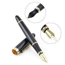 Jinhao fountain отделкой средний перо золотой pen черный шт.