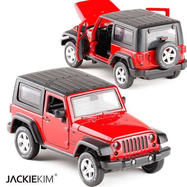 New High Simulation Exquisite Model Toys Model Jeep Wrangler Rubicon