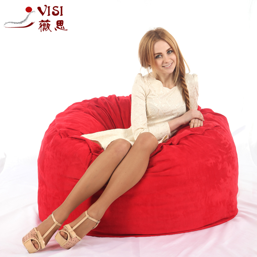 Astounding Us 75 0 4Ft Visi Foam Beanbag High Quality Microsuede Foam Bean Bag Cover Only In Living Room Chairs From Furniture On Aliexpress Com Alibaba Dailytribune Chair Design For Home Dailytribuneorg