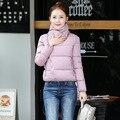 Inverno Mulheres Quentes Jaqueta de 2016 Moda Para As Mulheres Para Baixo Mulher Jaqueta de Algodão Acolchoado Casacos Grossos Mulher Parkas Roupas Casaco Feminino