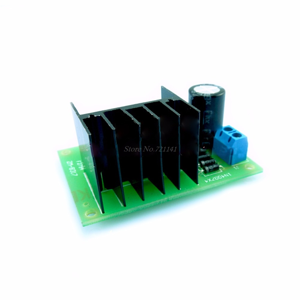Lm317 Adjustable Power Supply Board With Rectified Ac Dc Input Diy An Breadboard By Kit Integrated Circuits In From Electronic Components