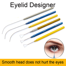 Double Eyelid Designer Simulator Curved Probe Heavy Duplicator Eye Cosmetic  Beauty Health >> Makeup