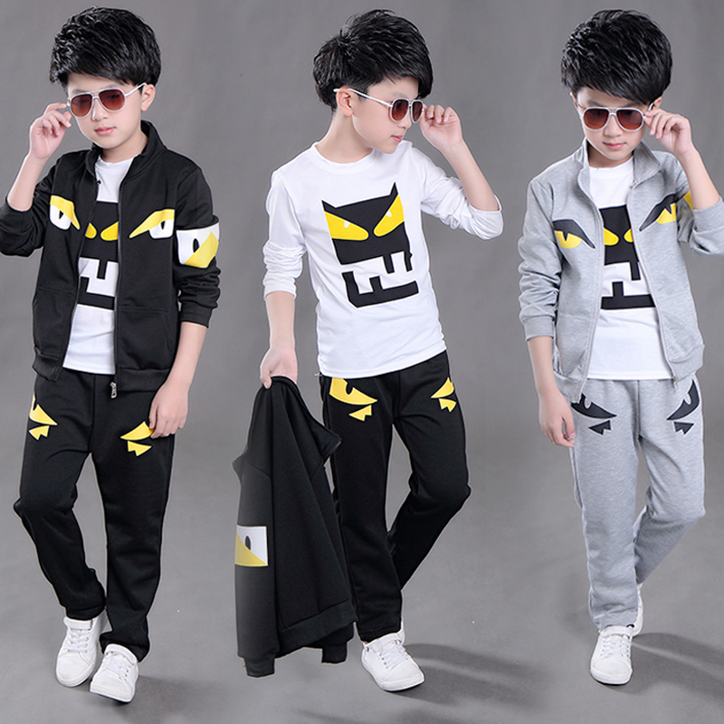 2017 Boys Sports Set Kids Clothing Sets 3pcs Suit Set Teenagers Sports Suit School Kids Suit Sets Boys Jackets & Pants & T-shirt car dvd player system for mitsubishi pajero 2010 2015 autoradio car radio stereo gps navigation multimedia audio video