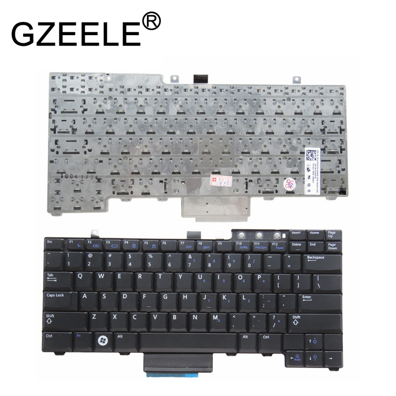 Gzeele New Us Keyboard For Dell Latitude E5300 E5400 E5500