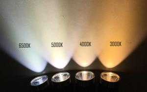 Image 5 - مانتا راي S21 أسود مصباح ليد جيب الشعلة ، مع مينوس SST 20 W LED باعث ، النحاس DTP مجلس ، تشغيل بواسطة 21700 أو 18650 بطارية