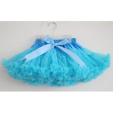 Free Shipping 2-18 Years Fluffy Chiffon Skirt Tutu Skirts Baby  Pettiskirts girls Princess Dance Party kids petticoat skirts недорого