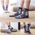 2016 de invierno nuevo Harajuku Japonesa de dibujos animados Hawaii fashionwomen calcetines pingüino patrón de algodón calcetines calientes