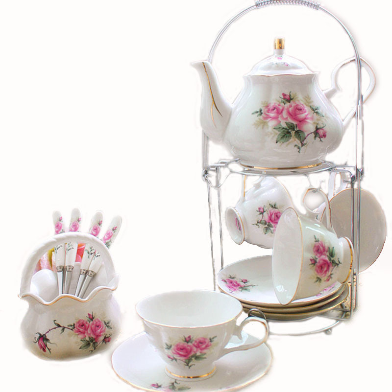online buy wholesale english bone china tea set from china english bone china tea set. Black Bedroom Furniture Sets. Home Design Ideas