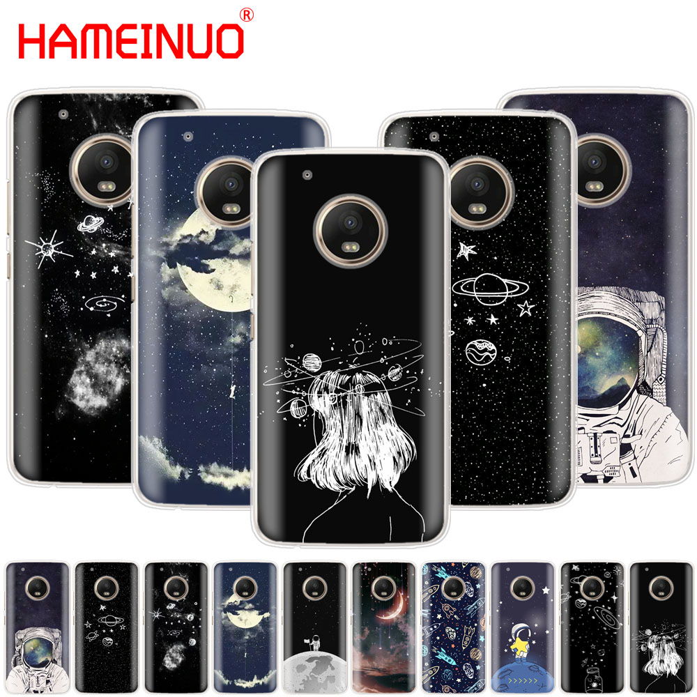 Half-wrapped Case Constructive Hameinuo Space Love Sun And Moon Star Drawing Case Phone Cover For Motorola Moto X4 C G6 G5 G5s G4 Z2 Z3 Play Plus With The Best Service Cellphones & Telecommunications