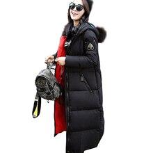 2016 новая зимняя куртка женщины военная печать парки хлопок вниз с очки свободные пальто средней длины pathchwork пальто snowear