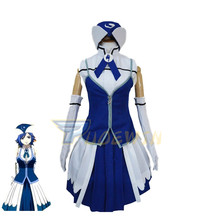 Anime Fairy Tail Juvia Lockser Cosplay Costume Custom Made Size juvia майка