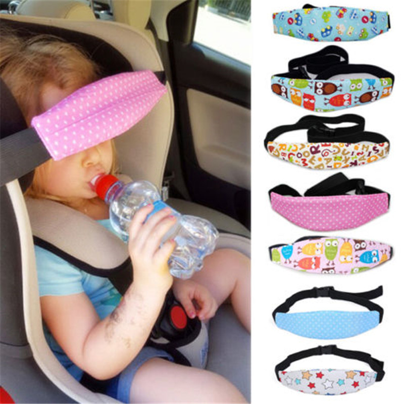 Baby Kid Head Support Holder Fixing Band Sleeping Belt Car Seat Sleep Nap Holder Belt Baby Stroller Safety Seat Holder Belt