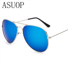 2019 new mens sunglasses classic brand fashion design ladies UV400 oval metal frame driving