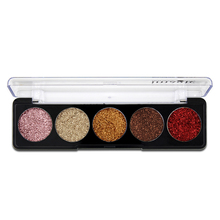 5 Colors Cosmetic Makeup Pressed Glitter Eyeshadow Pallete Brand New Diamond Foiled Eye Shadow Make up Palette