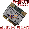 AzureWave AW-NB087H Ralink RT3290 Chipset IEEE 802.11 b/g/n 150Mbps with Bluetooth 3.0HS Half Size MINI PCIe Wi-Fi Card WLAN