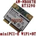 Azurewave AW-NB087H Ralink RT3290 Chipset IEEE 802.11 b / g / n 150 Mbps con Bluetooth 3.0HS medio tamaño MINI PCIe Wi-Fi tarjeta WLAN