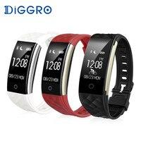 Diggro S2 Smart Bracelet Heart Rate Bluetooth 4 0 Smart Band Fitness Sport Tracker Remote Camera