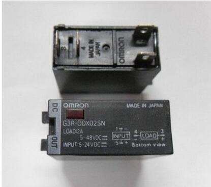 Solid state relay G3R-ODX02SN 5-24VDC G3RODX02SN G3RODX02SN-5-24VDC  DIP4 2PCS/LOT solid state relay g3nb 240 5 b 1 24 vdc