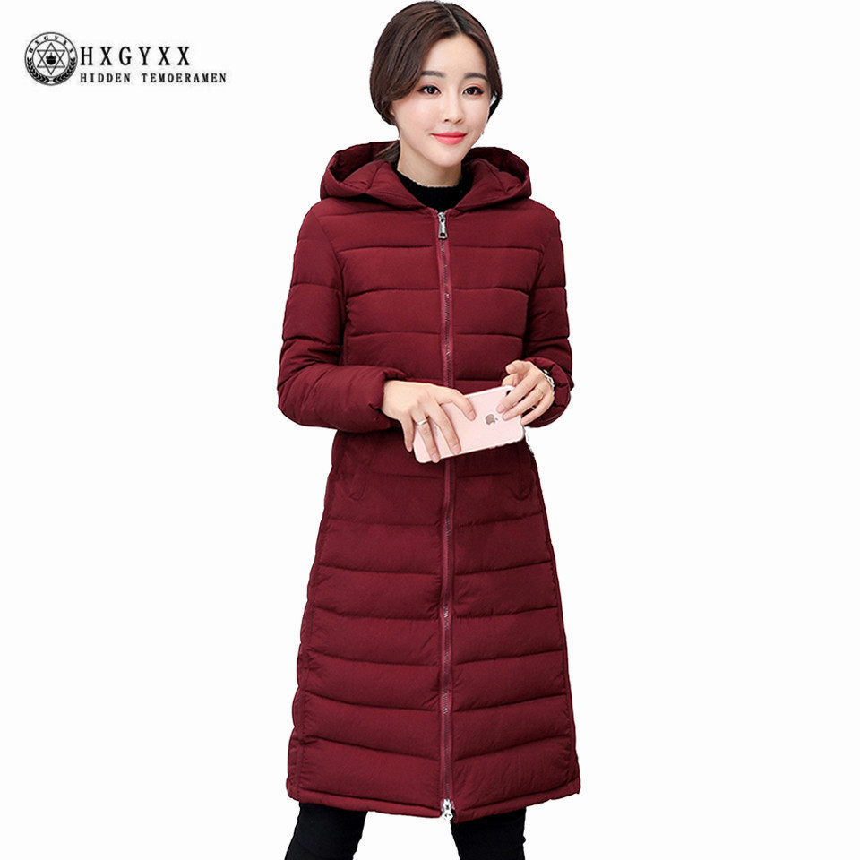 Autumn Winter Jacket 2017 New Arrival Women Hooded Coat Thin Cotton-padded Parka Wadded Jacket Long Slim Warm Outwear okB17 цены онлайн