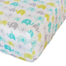 Cotton Crib Fitted Sheet Soft Baby Bed Mattress Cover Protector Cartoon Newborn Bedding CRIB SHEET For Cot Size 28''x52''