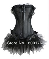 free shipping Fancy Dress Ladies Sexy Lingerie Basque Corset Party Wear A018