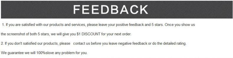 winkel informatie over feedback