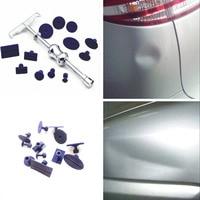 G1 13x Car Body Paintless Dent Repair PDR Puller Lifter T Bar Hail Removal Tool+Tab