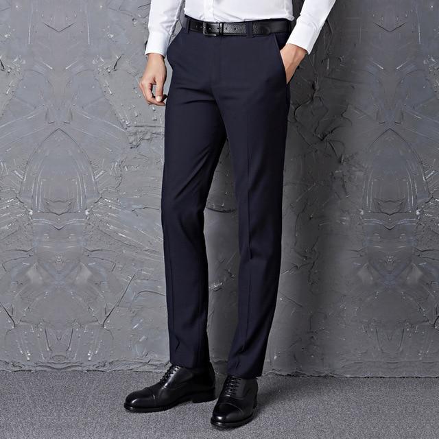 4e2061231b8aa Homme Luxe Skinny Dress Pantalones De Vestir Para Pantalon hombre Formal  men Summer Spring Slim Fit Office Pants Trousers