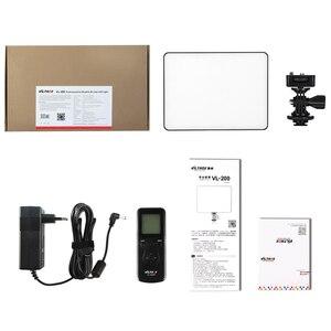 Image 5 - Viltrox VL 200 פרו אלחוטי מרחוק LED וידאו סטודיו אור מנורת Slim דו צבע Dimmable + AC מתאם + 2M אור stand עבור מצלמת וידאו