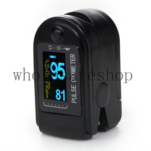2017 New Arrival OLED fingertip pulse oximeter  pulse oximeter pulse oximeter Fit for Men and Women