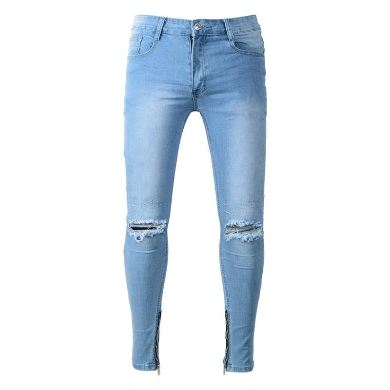осень джинсы; Жан мужчины; Длина: Полная Длина;