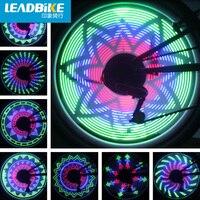 Leadbike Fahrrad-rad Licht 32 Muster 36 LED-Blitz Ventil kappe Licht MTB Fahrrad Sprach Reifen Licht Cool Glänzende Bunte lichter