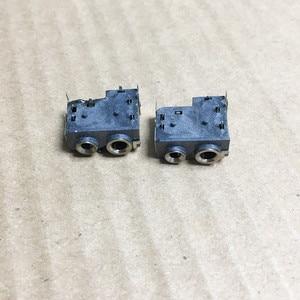 Image 2 - 10 pçs/lote o 2.5/3.5mm 2 pinos m plug fone de ouvido jack conector soquete para motorola dep450 dp1400 xir p3688 walkie talie