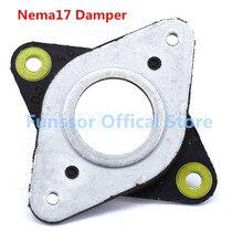 Funssor 5 sztuk/partia NEMA 17 metalowe i gumowe amortyzatory drgań silnika krokowego importowane oryginalne 42 amortyzator silnika krokowego