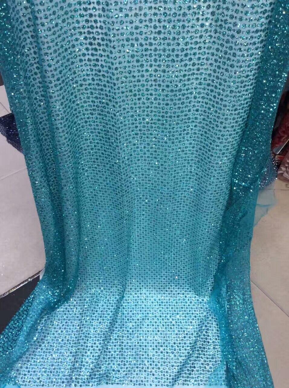 De alta calidad brillo de encaje/tela para vestidos de novia de ...