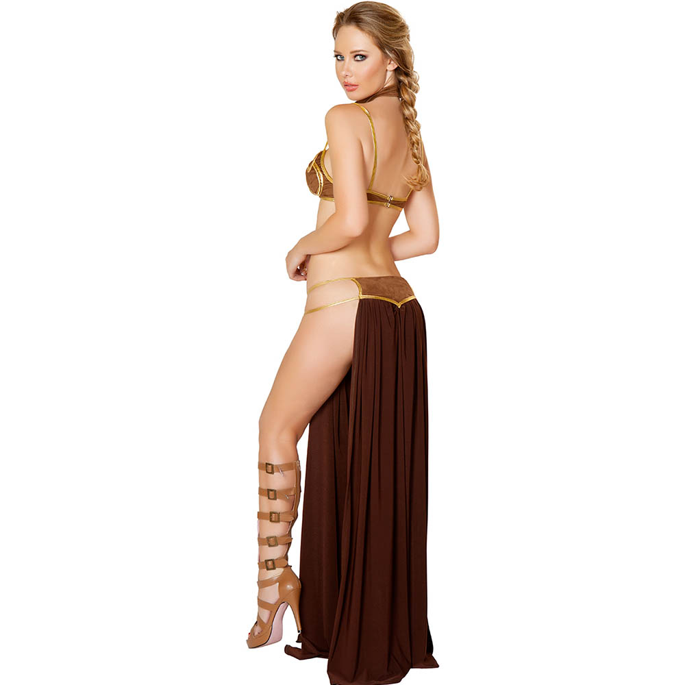 Nude women dressed as princes leia were visited