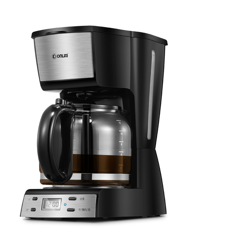 Coffee Maker Dl – Kf400 Cook Coffee Machine Household Small-sized Fully Automatic Continuous System Drip Coffee Pot