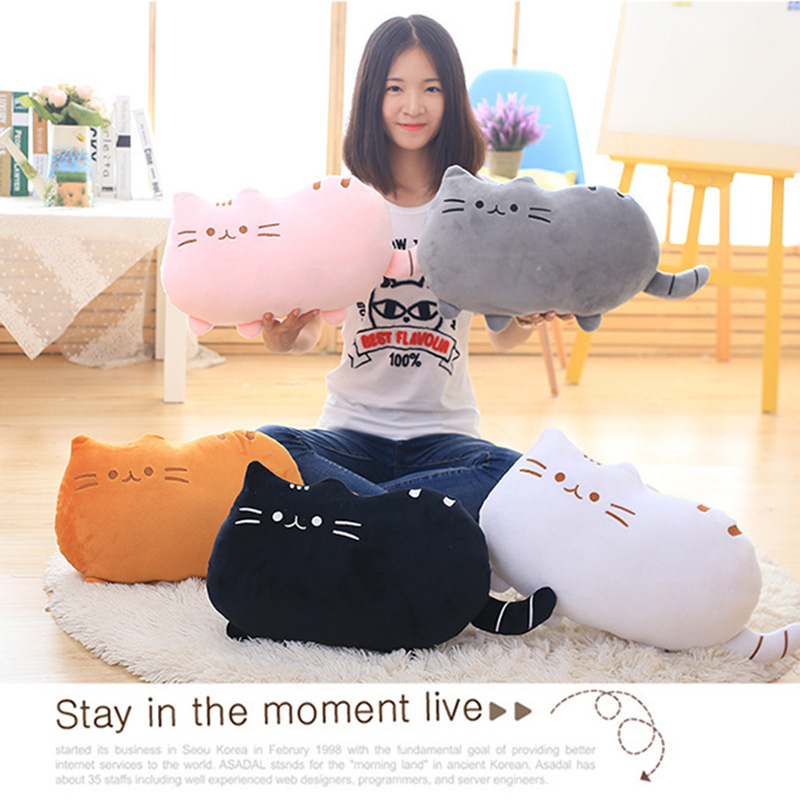 HTB1deIUMYvpK1RjSZFqq6AXUVXaE 8Colors Cute Fat Cat Baby Plush Toy 20/40 cm Pillow Dolls For Children High Quality Soft Cushion Cotton Brinquedos For Kids Gift