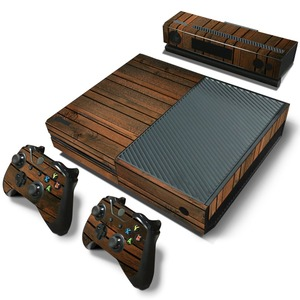 Image 4 - Wood Vinyl Skin Sticker Protector For Microsoft Xbox One and 2 controller skins Stickers For Xbox One Mando Manttee Decal