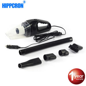Hippcron Car Vacuum Cleaner High Power Cleaner Mini Wet Dry Dual-Use 12 V 120 W