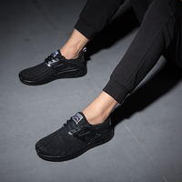 2018 Men Shoes Summer Breathable Casual Shoes Fashion Comfortable Lace up Men Sneakers Mesh Flats Shoes 5