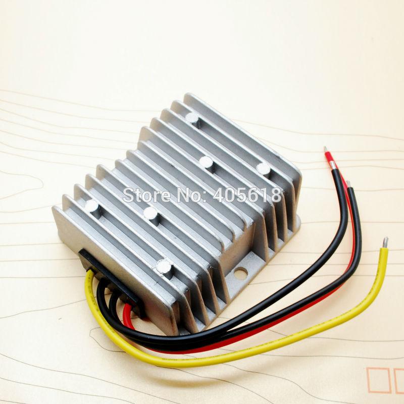 120 Watt 48 V Zu 12 V Dc Konverter 10A 120 Watt Dc Dc Konverter Wasserdichte Auto Regler Power Versorgung Kostenloser Versand