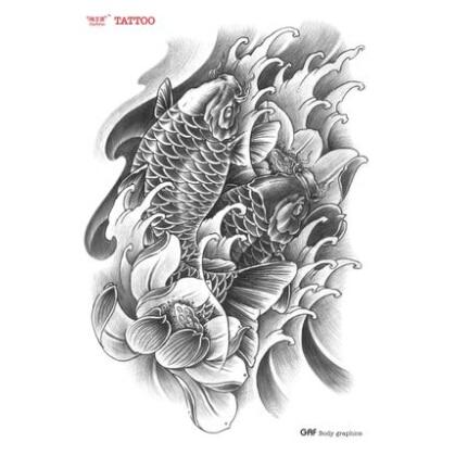 Tattoo Koi Tattoo Lotus Flower Arm Tattoo Traditional Tattoo
