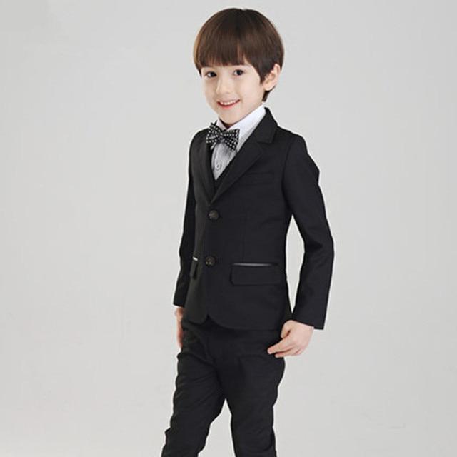 cfb6eabe4c5fe Детский костюм детские костюмы для мальчиков Детский Блейзер Обувь для  мальчиков блейзер для мальчиков 2017 официальный