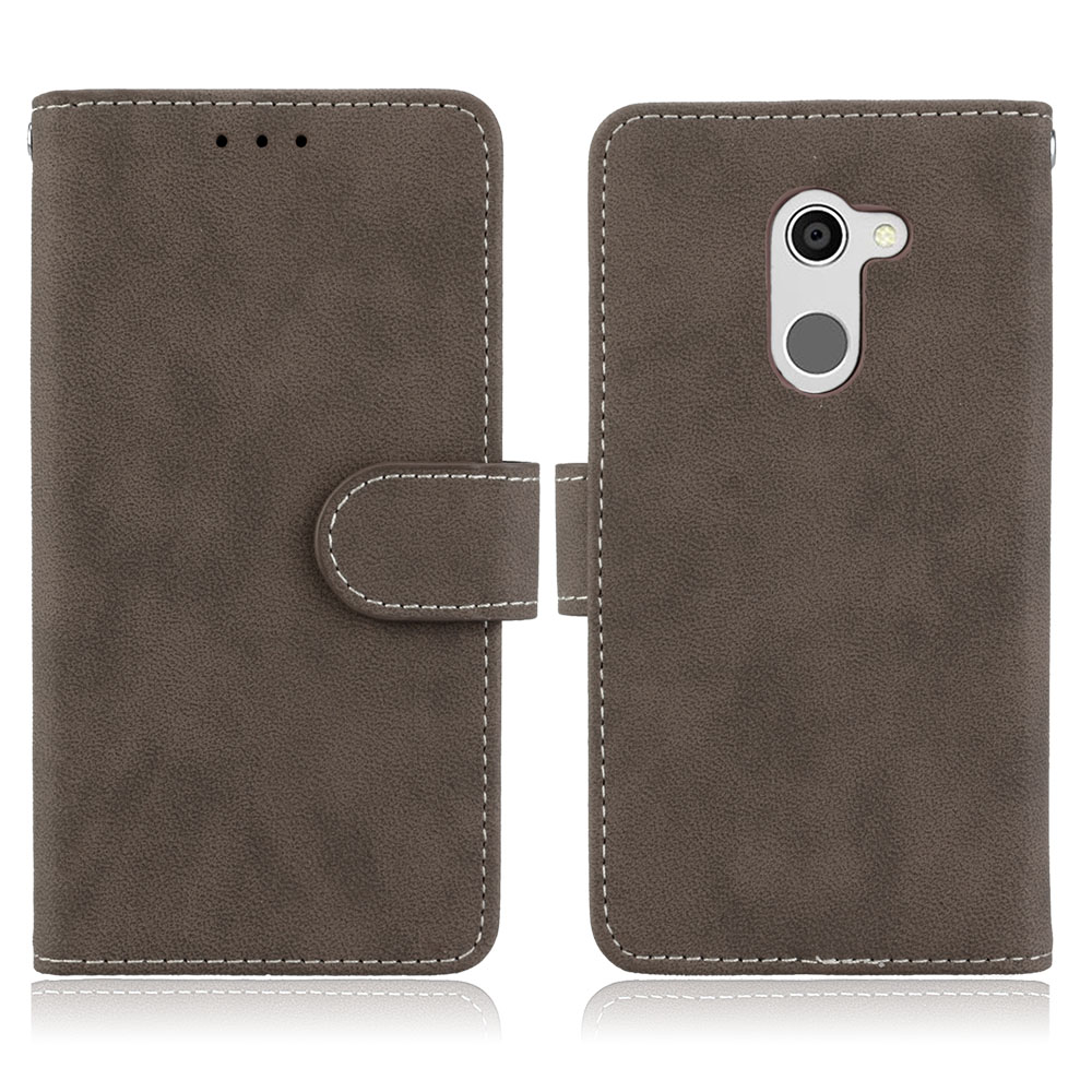 For alcatel A3 Case 5.0inch Wallet Style Matte PU Leather Mobile Back Cover For Alcatel A3 5046 5046Y 5046D Phone Bag Case