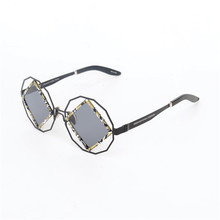 2017 New Arrival Fashion Square Sunglasses Acetate Frame Sunglasses Oculos De Sol Fenimino UV400 Protection