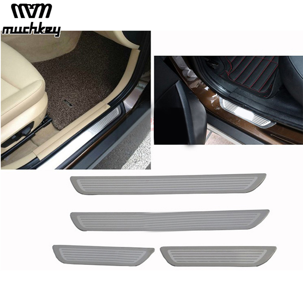 2013-2014 CAR DOOR SILL PROTECTOR for Serie X5 III F15 Stainless Steel