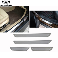 Car Door Sill Scuff Plate For BMW X1 X3 X6 5 1 3 7 Series E70
