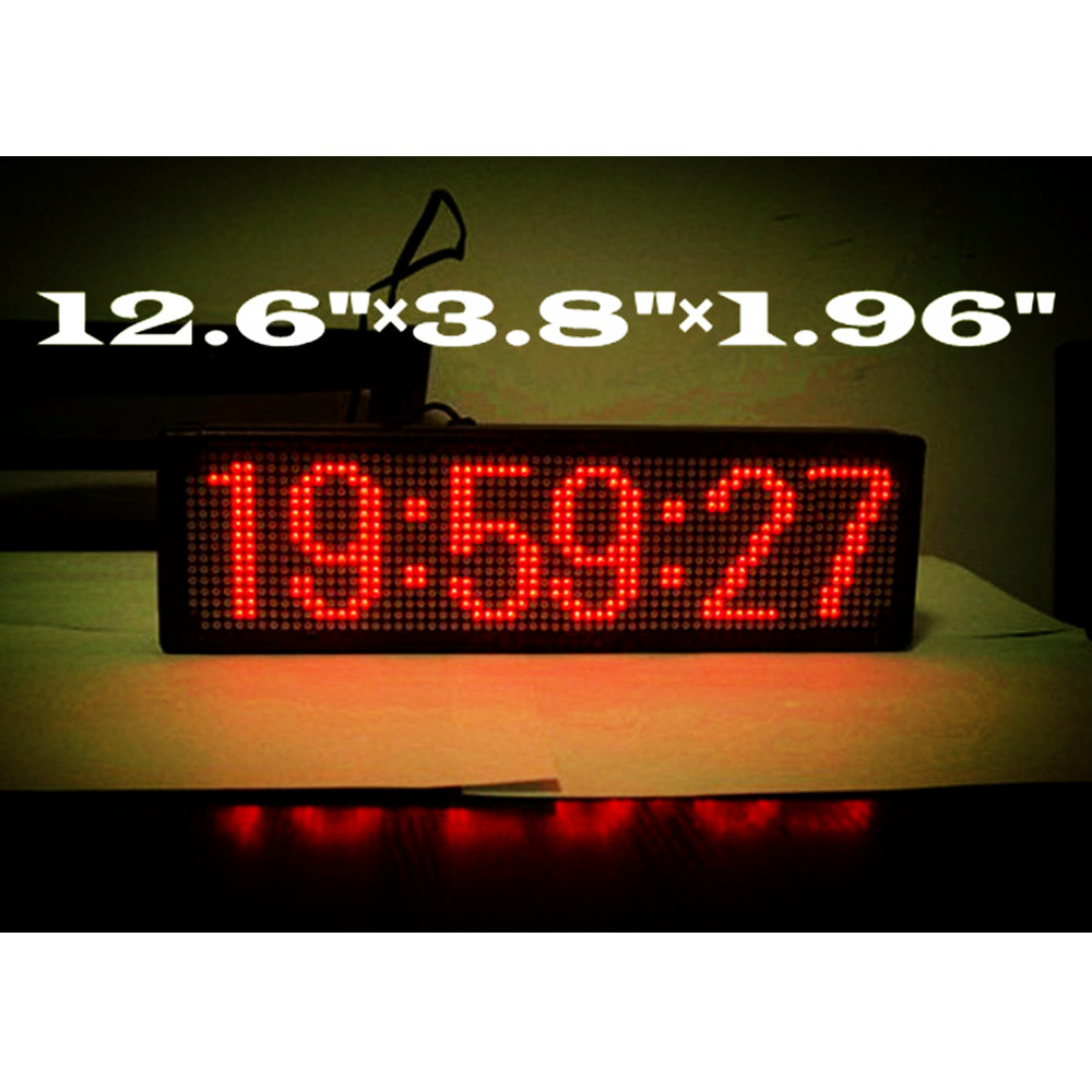 Large Digital Led Wall Clock Home Decoration Coordinated